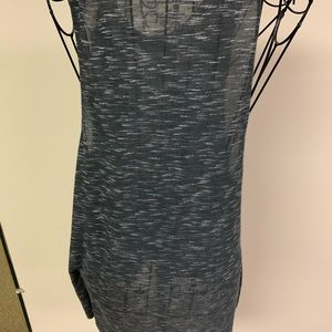 AC DC Tops - AC DC grey and white women's sleeveless tank top L